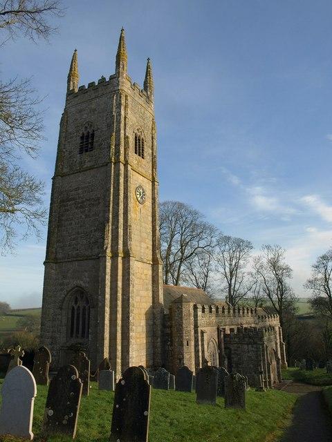 St Andrew's church, Sampford Courtenay