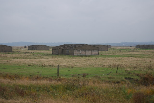Old barracks, Cliffe Marshes