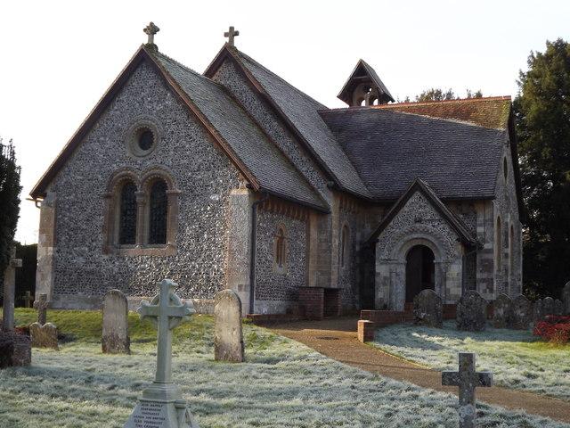 Itchen Abbas Church