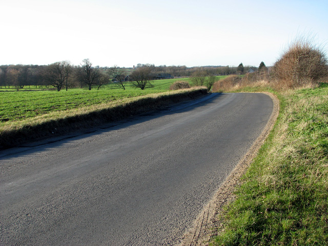 Country lane to Kettleburgh