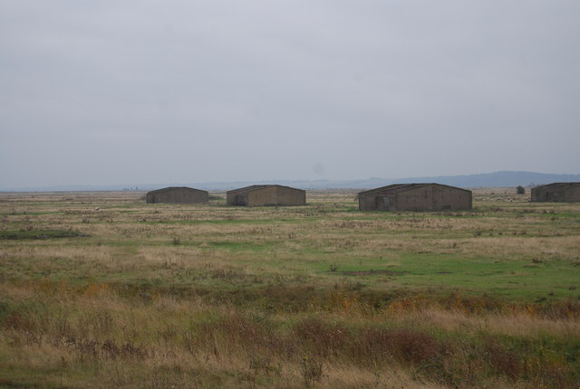 Derelict barracks, Cliffe Marshes