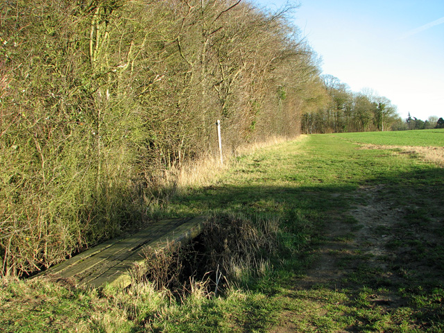 Footpath to Easton past the Skouldings