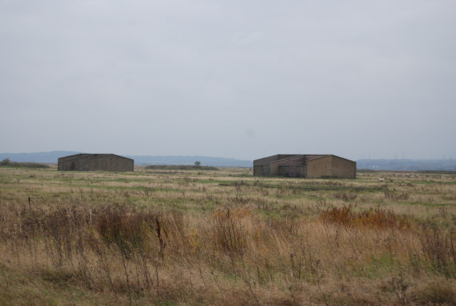 Derelict barracks, Cliffe Marshes