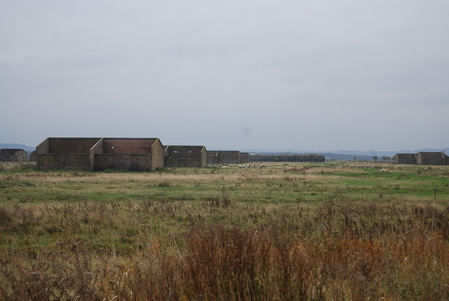 Derelict munition factory buildings, Cliffe Marshes