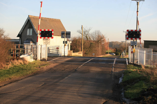 Kettleby crossing on the Brigg line