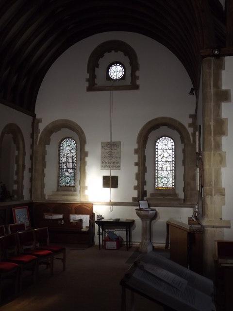 St John the Baptist, North Wall