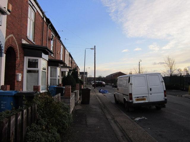St Hilda Street off Beverley Road, Hull