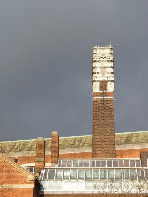 Acton swimming baths chimney