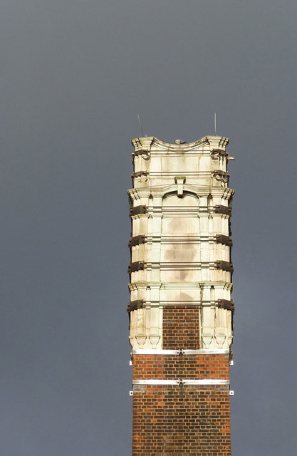 Acton swimming baths chimney