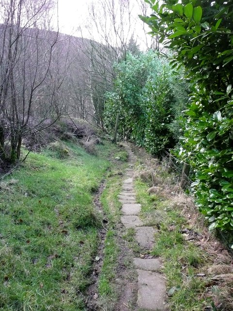 Old packhorse route, Cragg Vale