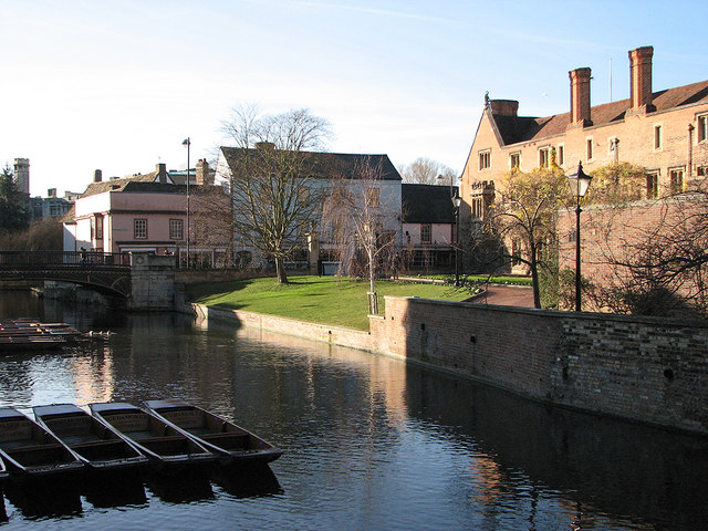 The Cam at Magdalene Bridge in January