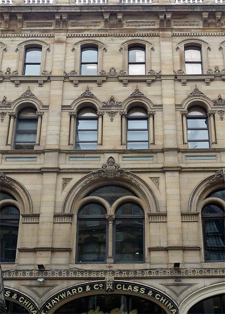 Detail of Hayward's Building, Deansgate, Manchester