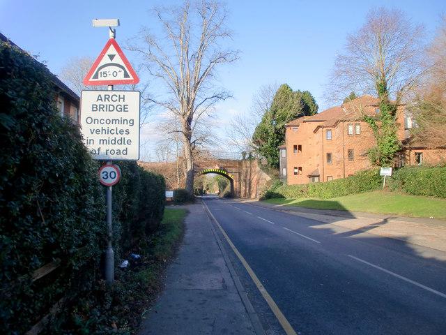 Bridge near Horsley Station, Surrey