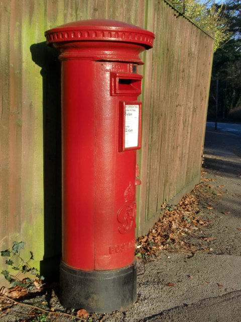 George VI Pillar Box, Horseshoe Lane, Merrow, Surrey