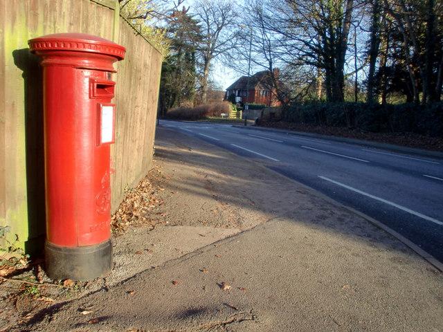 George VI Pillar Box, corner of Horseshoe Lane, Merrow, Surrey