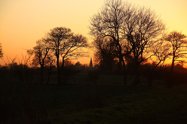Sunset on Clay Lane