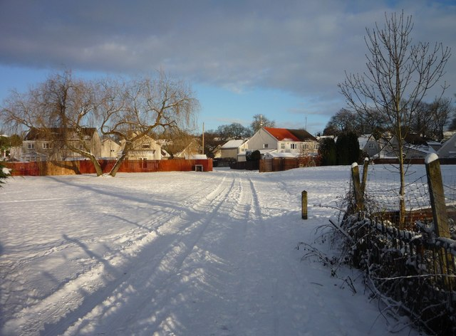 A winter day in Motherwell