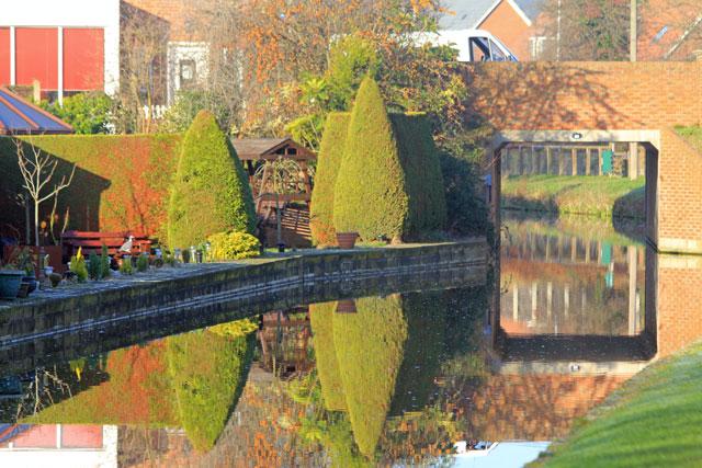 Canal bridge at Shireoaks