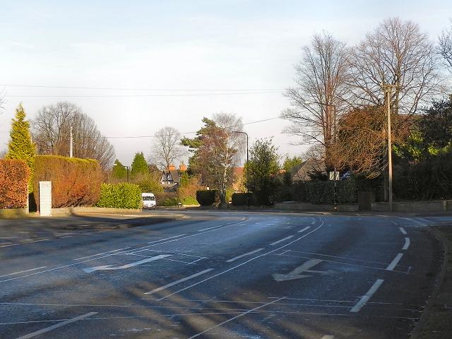 Delahays Road (A5144), Hale