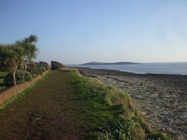 Coastal footpath, Sully