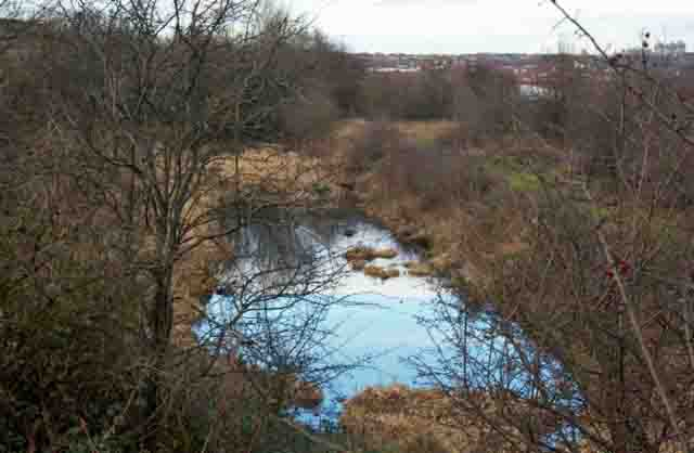 Part of the old Barnsley Canal