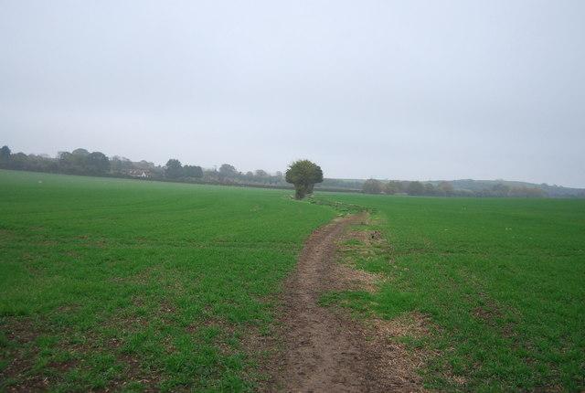 Footpath from Hawe Farm