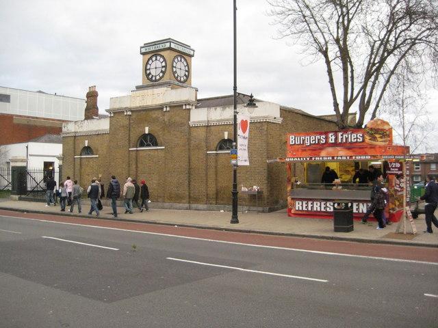 Former Bell Brewery building, Tottenham