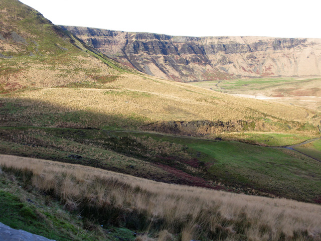 View W towards Graig Fach from the A4061