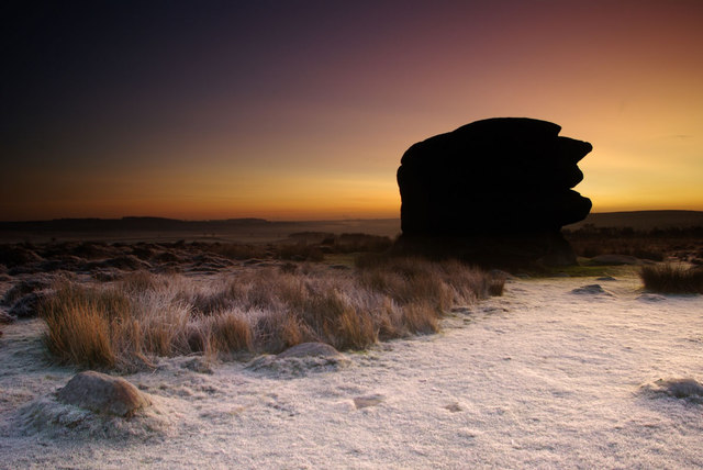 Dawn at Eagle Stone