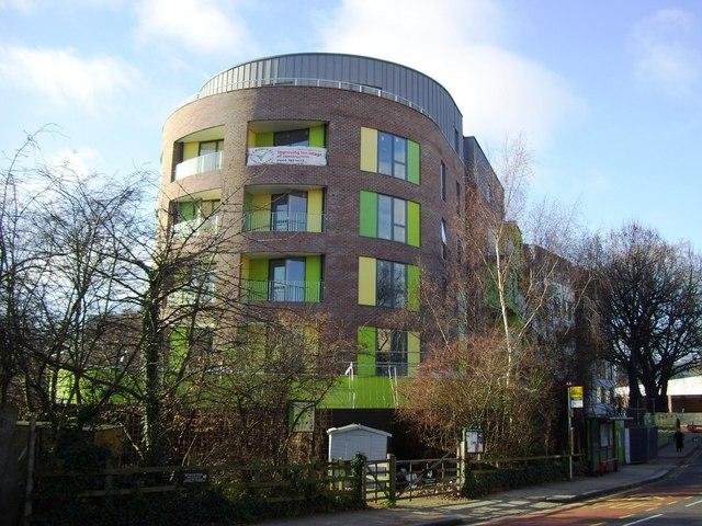 New flats, Bollo Lane, Acton Lane Junction