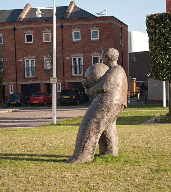 Stone Statue, Gunwharf Quays