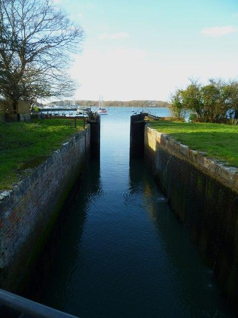 Salterns Lock