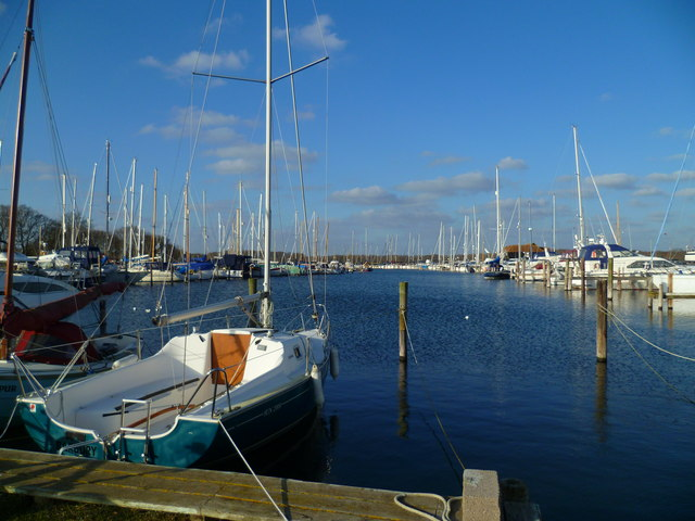 Moorings at Birdham Pool Marina