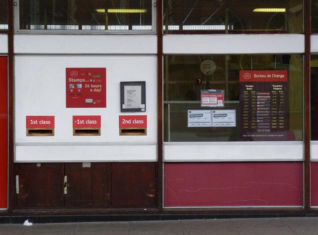 Acton Post Office posting box ref W3 17
