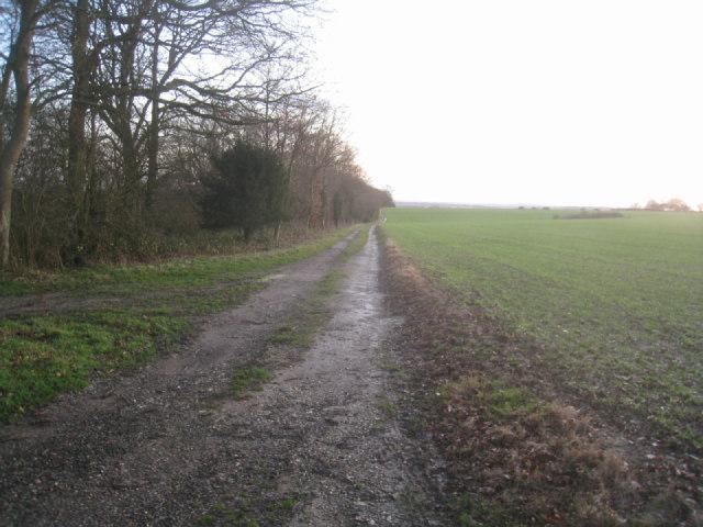 Byway south of Breach Farm