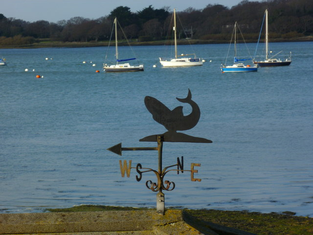 Weathervane at Westlands Pier