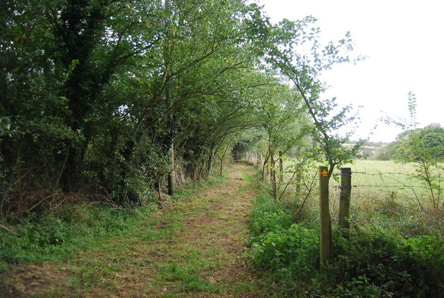 Footpath south of St Mary's Church