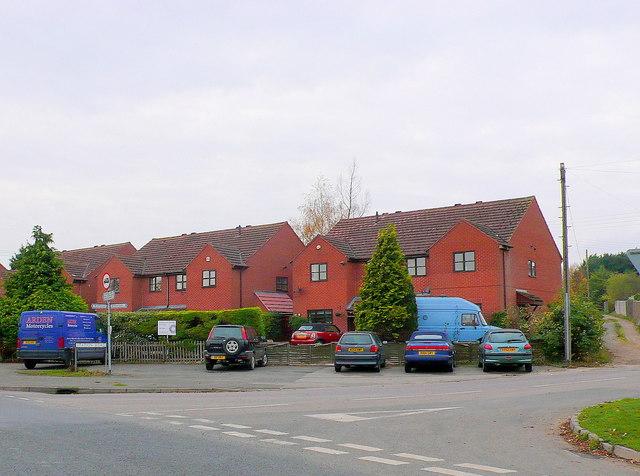 Houses at Blackminster Crossroads