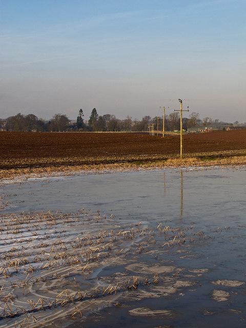 Farmland near Arlary