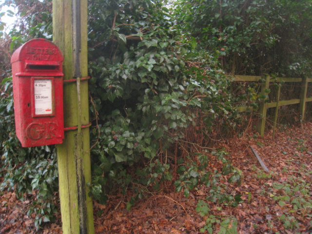 Isolated postbox