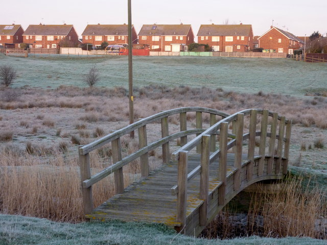 A small nature reserve at Oare on a frosty morning