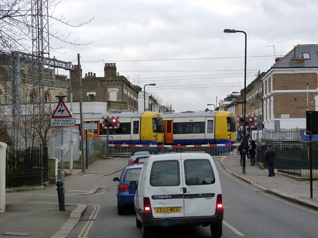 Acton Central level crossing