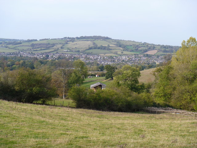 The view to Winchcombe