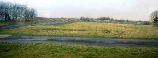 Derelict site on Askerwell Down