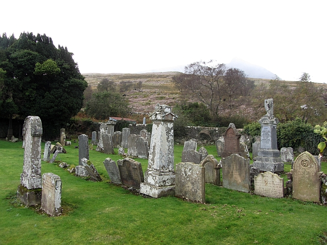 Cemetery, Sannox