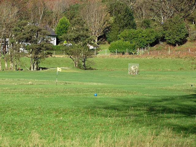Lochranza golf course