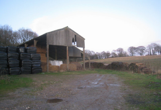Barn shown as Rucksters