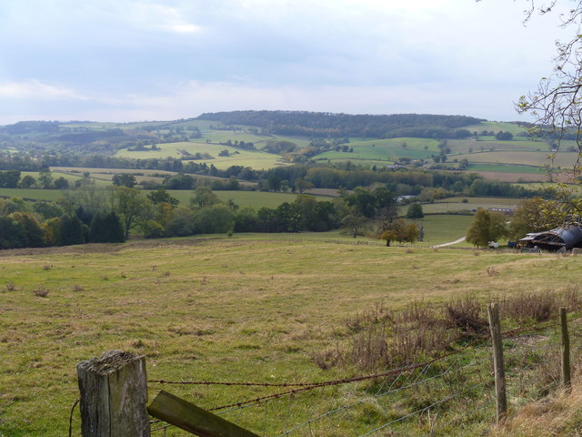 View from the bridleway