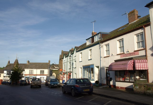 The Square, North Tawton