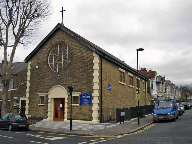 St. Philip and St. James Roman Catholic Church, Poplar Walk